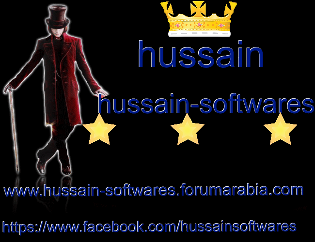 WELCOME TO THE  HUSSAIN-SOFTWARES WEBSITE 2018