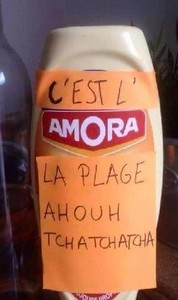 Humour sur les marques  Amora10