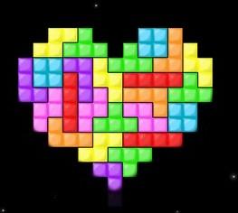 Tetris ( multi-support ) Love_f11