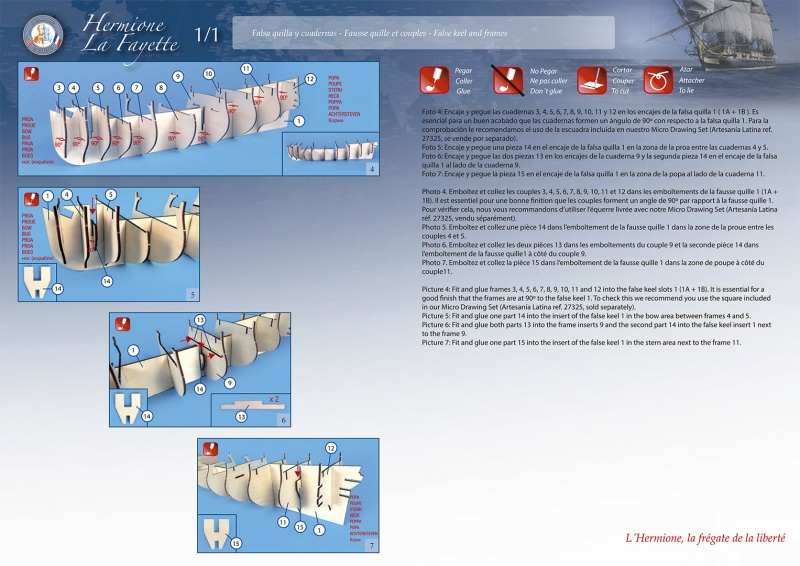 Je cherche le PLAN PAPIER du kit HERMIONE de Artesania Latina. 01-310