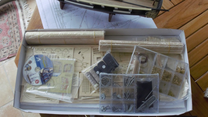 Je cherche le PLAN PAPIER du kit HERMIONE de Artesania Latina. P1170217