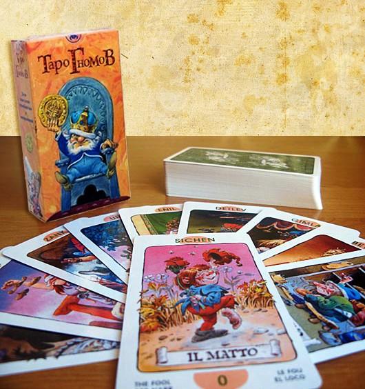 Susipažinkime... Tarot fo The Gnomes  Taro-g10