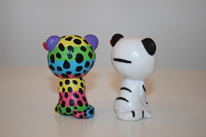 Mini Boos TY [Figurines animaux floqués ou peints à la main] Ty0210