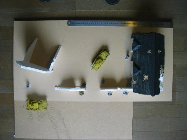 la bataille de la Fière. un projet de table modulable pour Bolt Action- Une échelle: du 28mm 1910