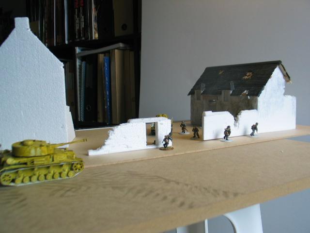 la bataille de la Fière. un projet de table modulable pour Bolt Action- Une échelle: du 28mm 2010