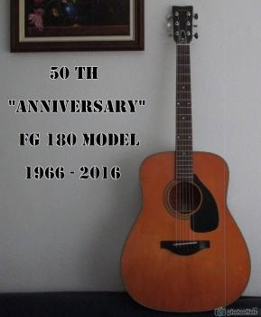 "Yamaha guitar FG 180 - 50 Th ""Anniversary"" Yamaha11"