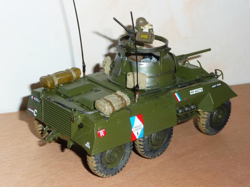 U.S. M8 Light Armored Car GREYHOUND  - TAMIYA 1/35 -  réf: 228 P1060718