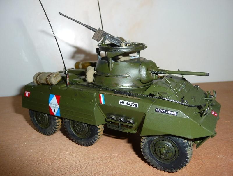 U.S. M8 Light Armored Car GREYHOUND  - TAMIYA 1/35 -  réf: 228 P1060719
