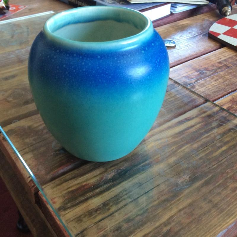 Scandinavian? Blue vase Image20