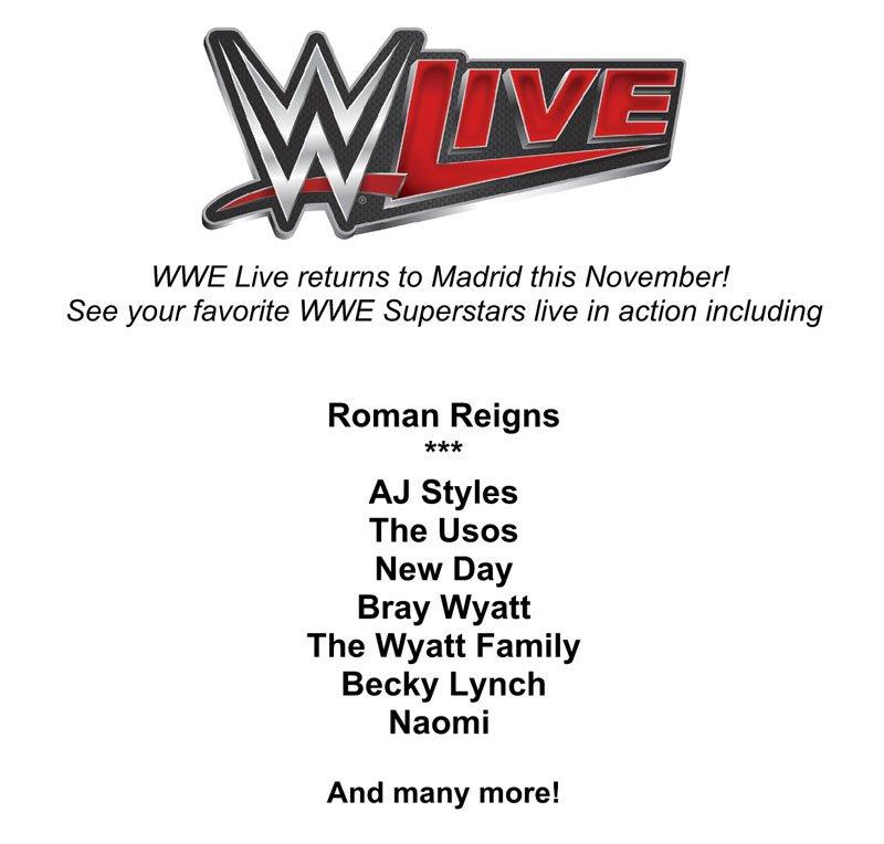 Tournées Européennes de la WWE en 2016 #2 Carte_11