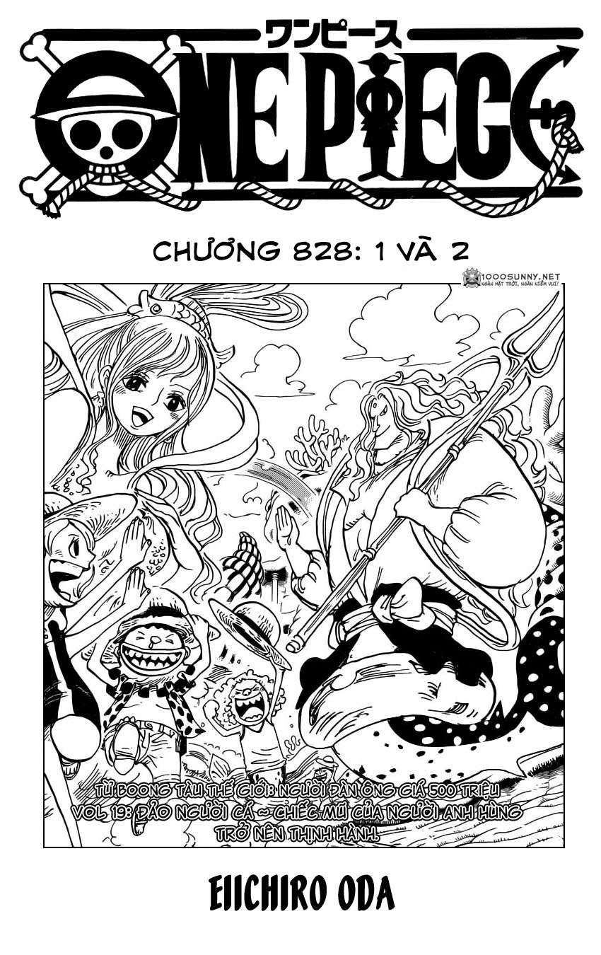One Piece Chapter 828: Số 1 và 2 0113