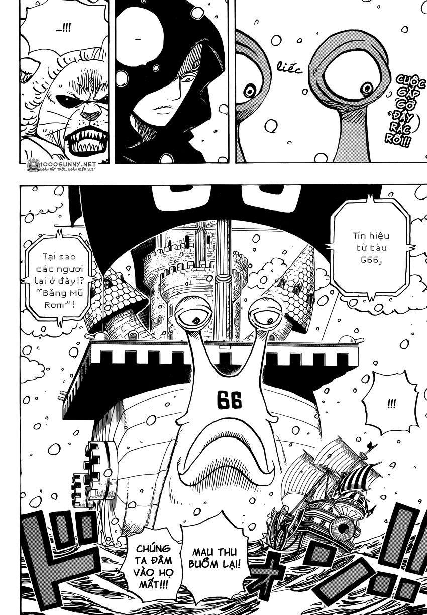 One Piece Chapter 826: 0 và 4 0211