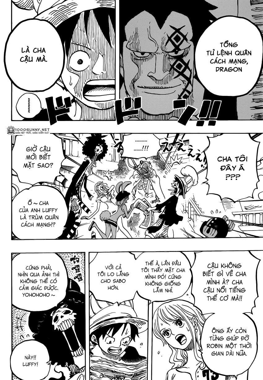One Piece Chapter 824: Trò bắt chước Hải tặc 0410