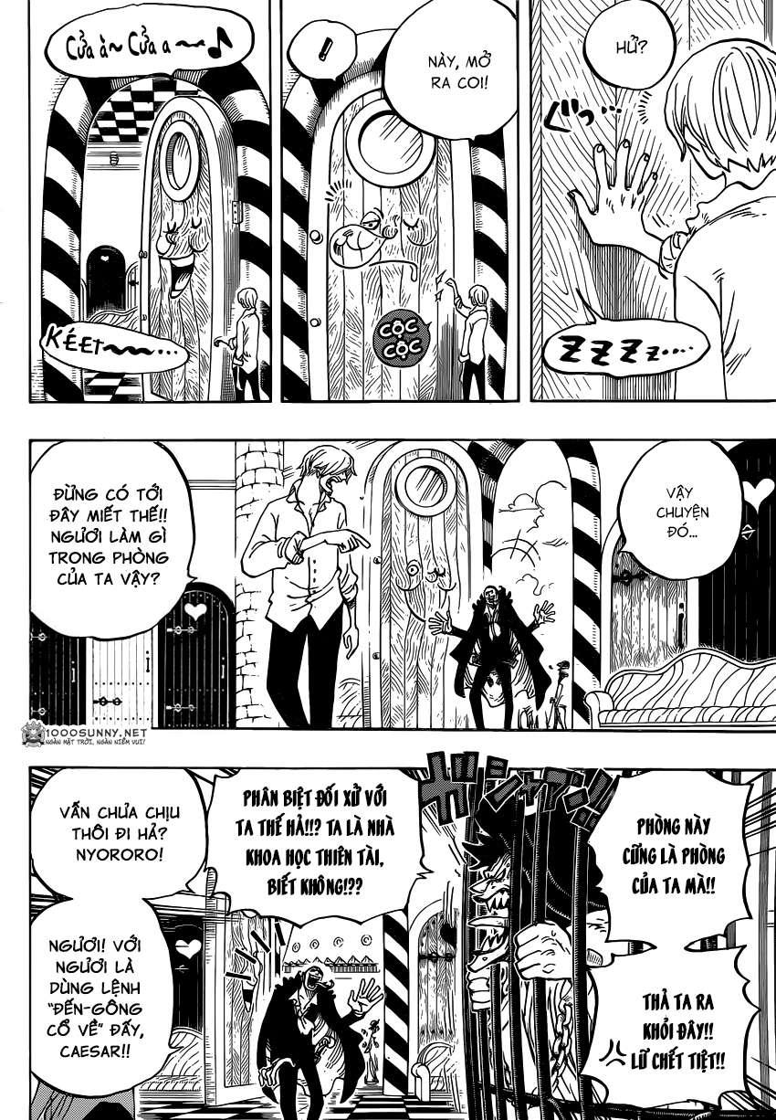 One Piece Chapter 825: Truyện kể bằng tranh trong tờ  0411