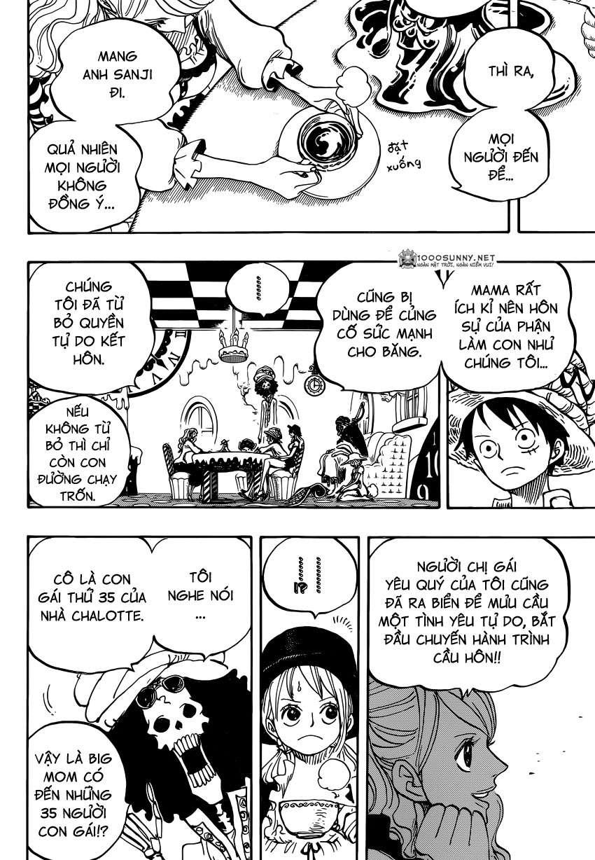 One Piece Chapter 828: Số 1 và 2 0414