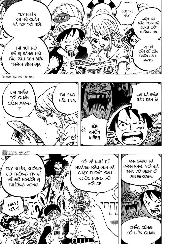 One Piece Chapter 824: Trò bắt chước Hải tặc 0510