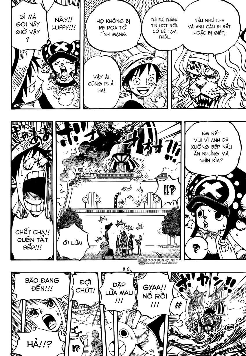One Piece Chapter 824: Trò bắt chước Hải tặc 0610