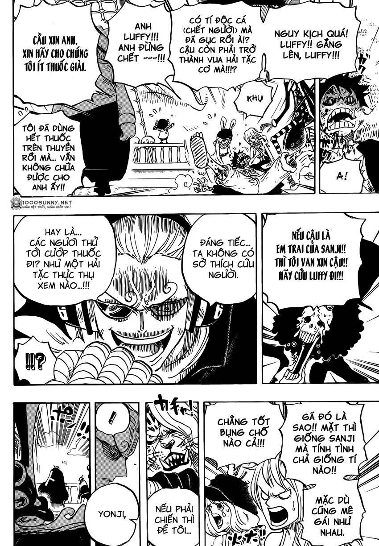 One Piece Chapter 826: 0 và 4 0613