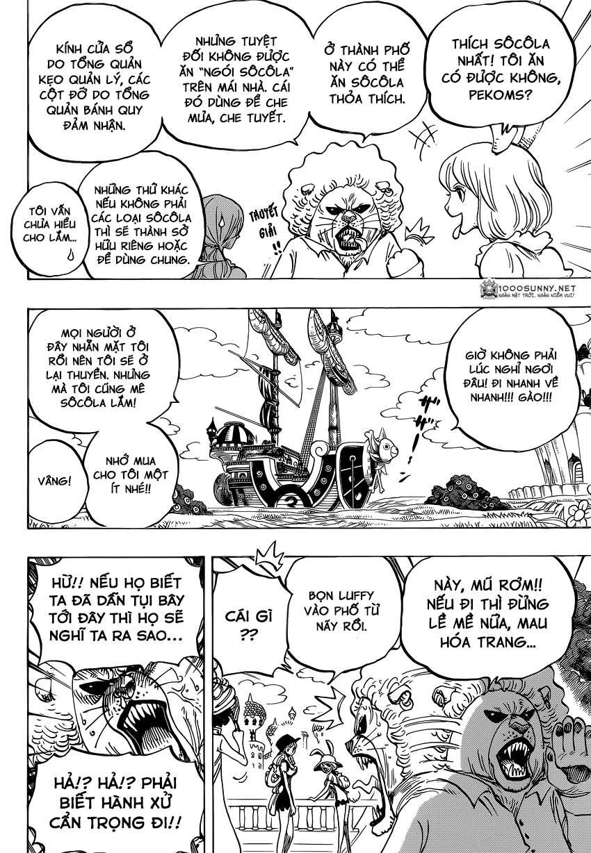 One Piece Chapter 827: TOTLAND - Đất nước cho tất cả! 0614