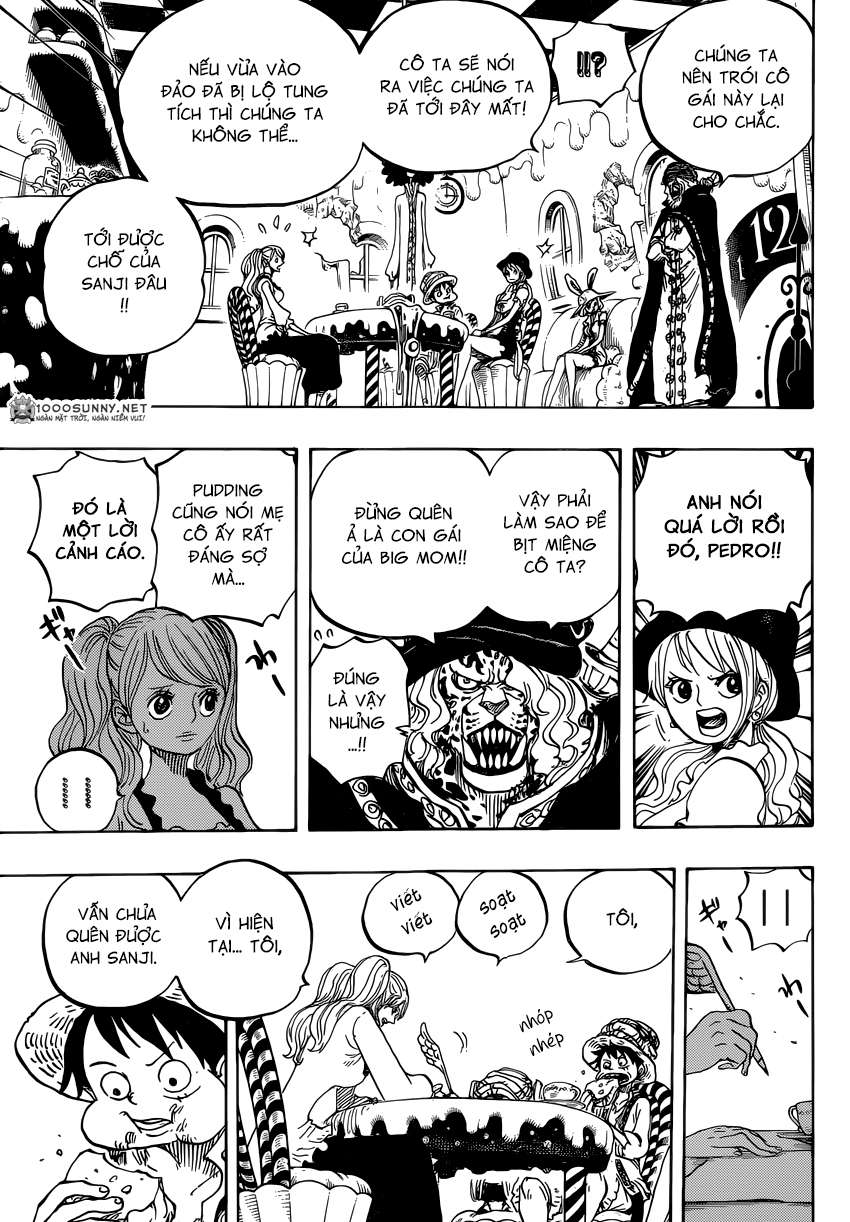 One Piece Chapter 828: Số 1 và 2 0714