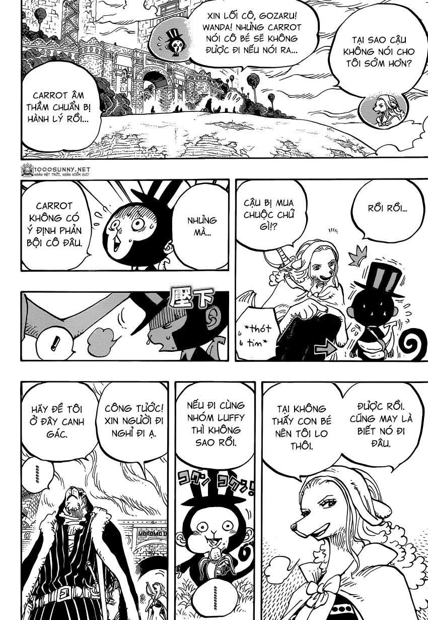 One Piece Chapter 824: Trò bắt chước Hải tặc 0810