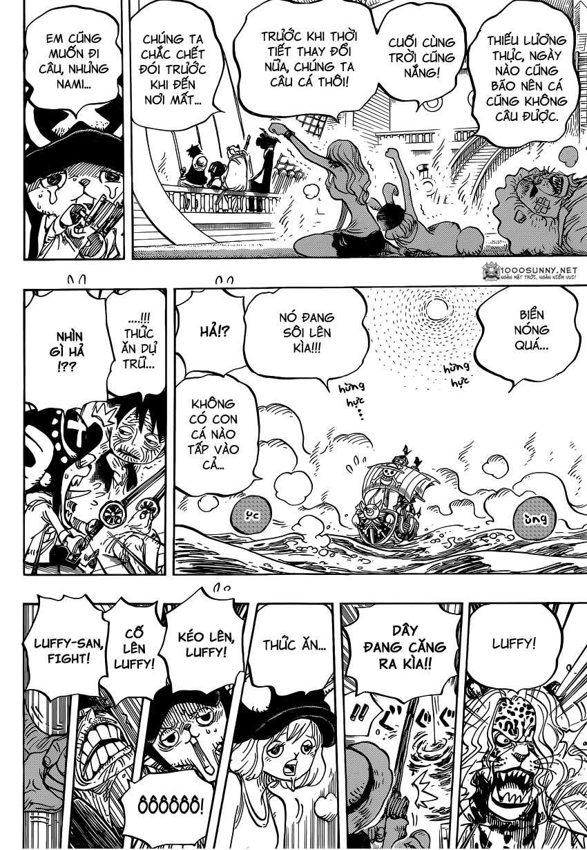 One Piece Chapter 825: Truyện kể bằng tranh trong tờ  0811