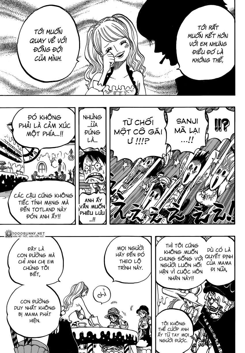 One Piece Chapter 828: Số 1 và 2 0914