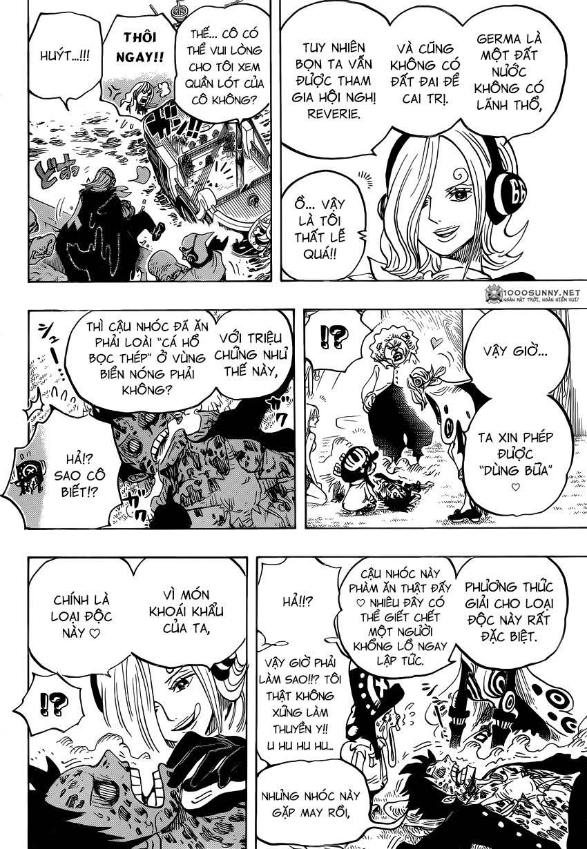 One Piece Chapter 826: 0 và 4 1011
