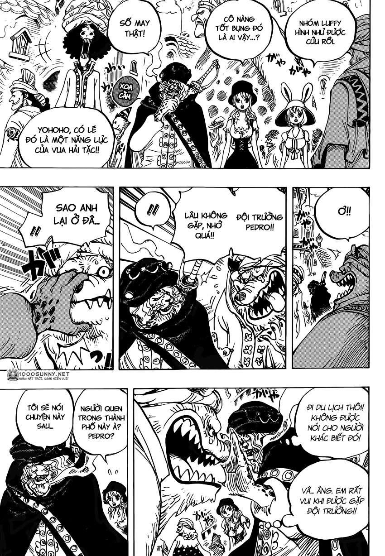 One Piece Chapter 827: TOTLAND - Đất nước cho tất cả! 1113
