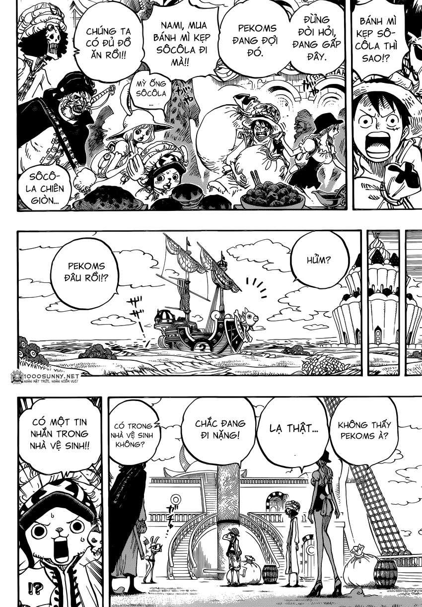 One Piece Chapter 828: Số 1 và 2 1214