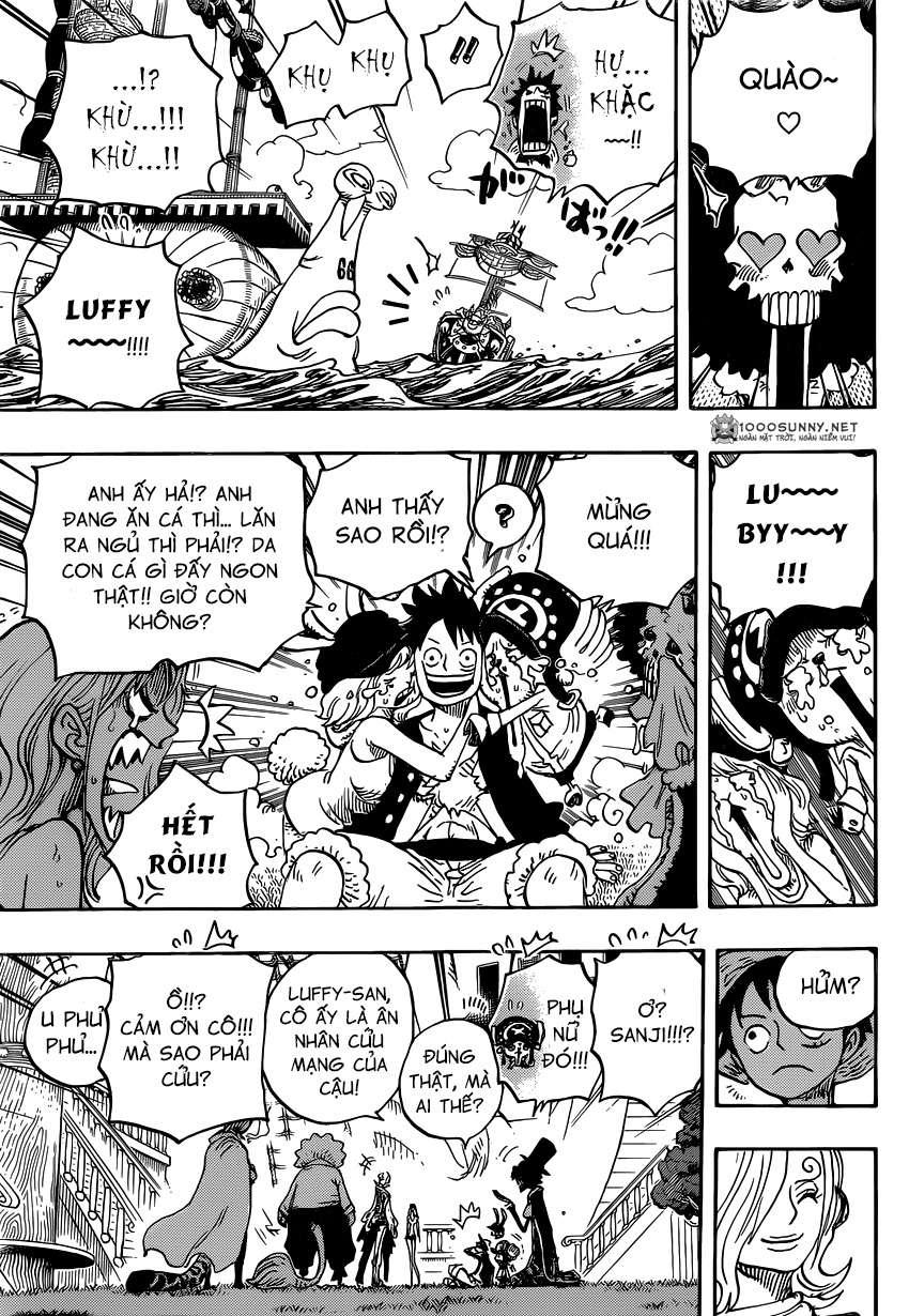One Piece Chapter 826: 0 và 4 1312