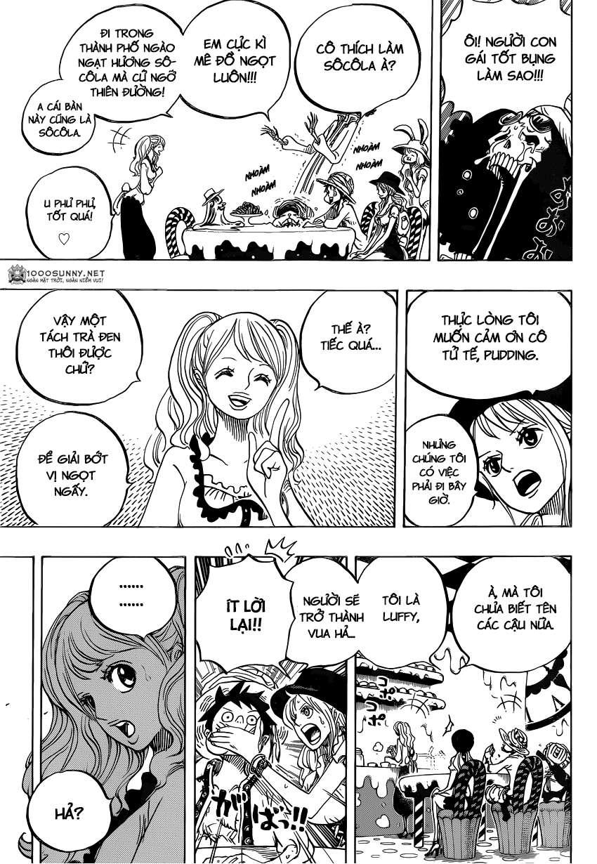 One Piece Chapter 827: TOTLAND - Đất nước cho tất cả! 1313