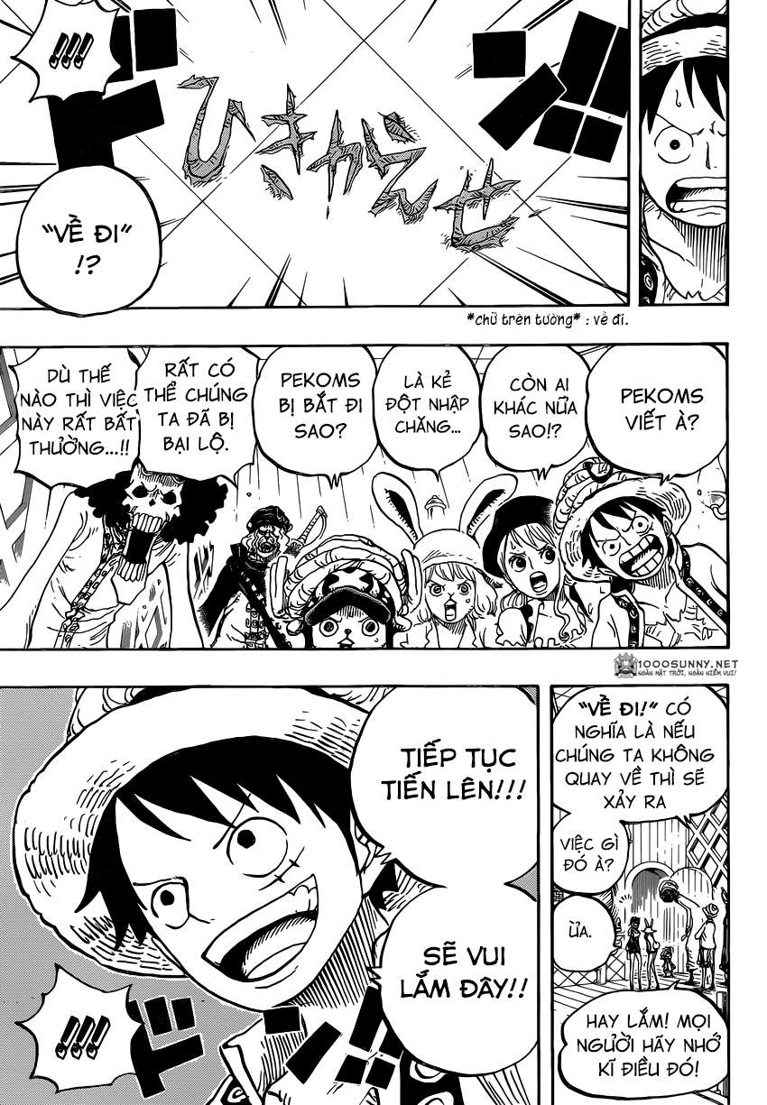One Piece Chapter 828: Số 1 và 2 1314