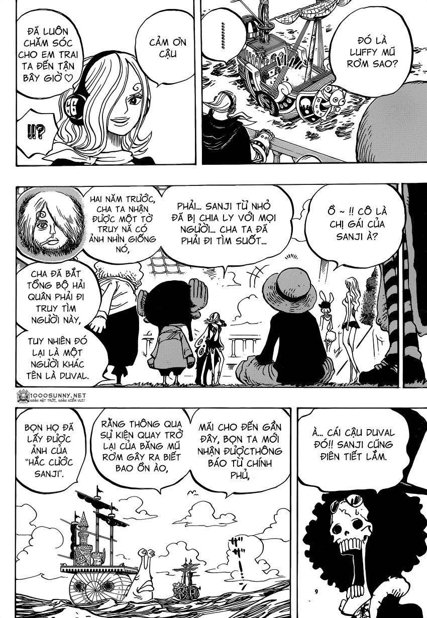 One Piece Chapter 826: 0 và 4 1411