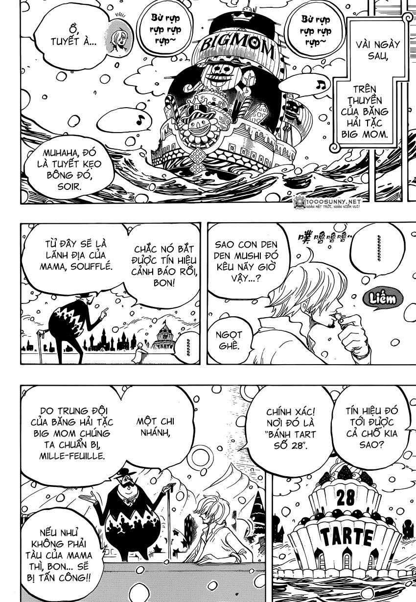 One Piece Chapter 824: Trò bắt chước Hải tặc 1610
