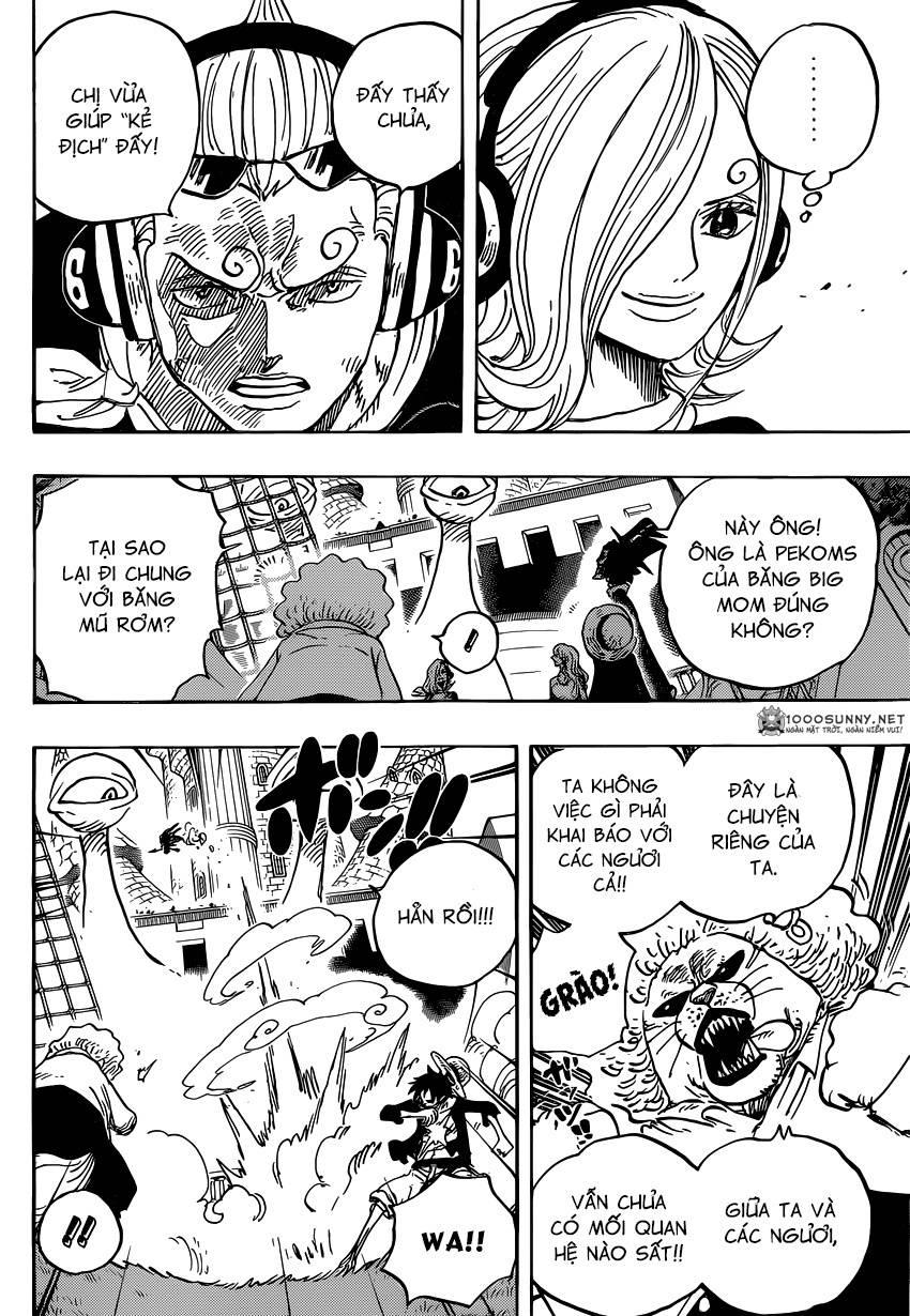 One Piece Chapter 826: 0 và 4 1611
