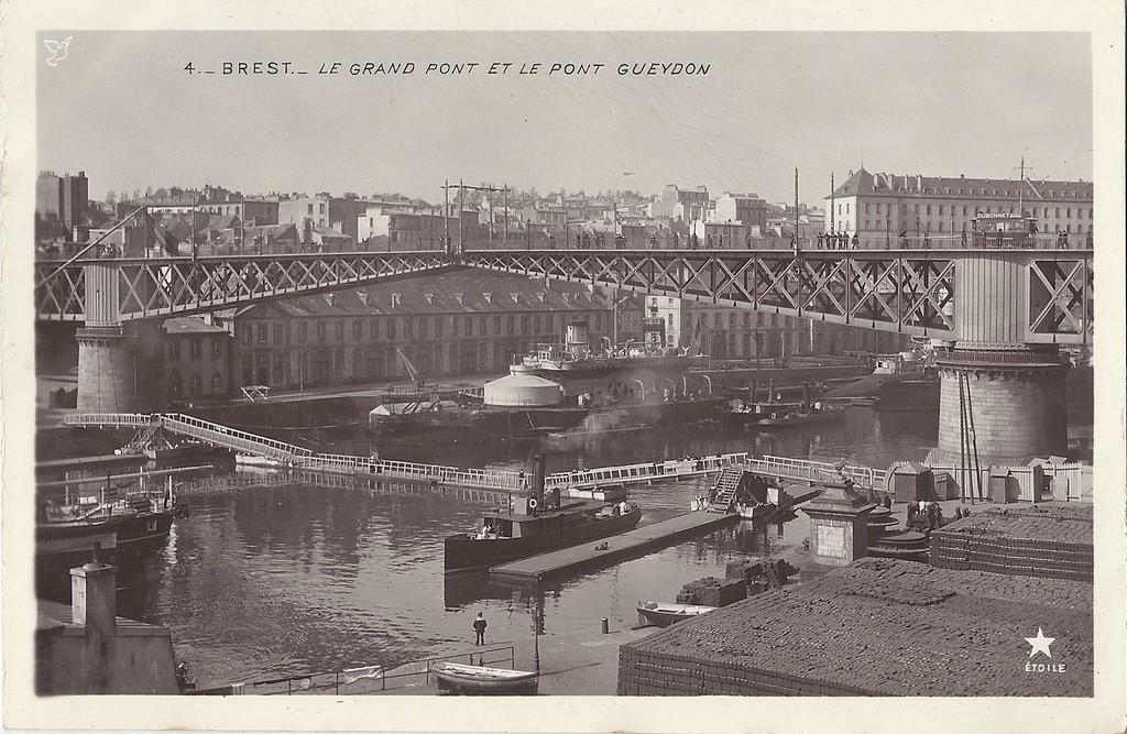 Ponton à mâter 1904 au 1/600 Brest_10
