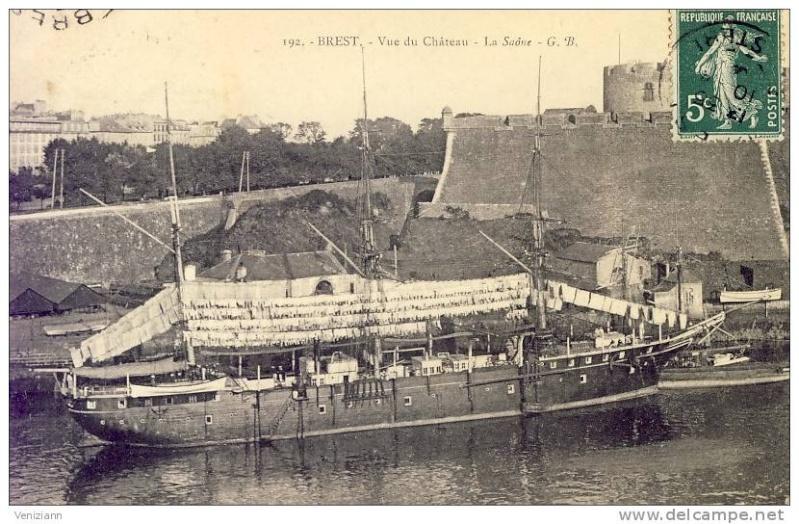 Ponton à mâter 1904 au 1/600 Saone_10