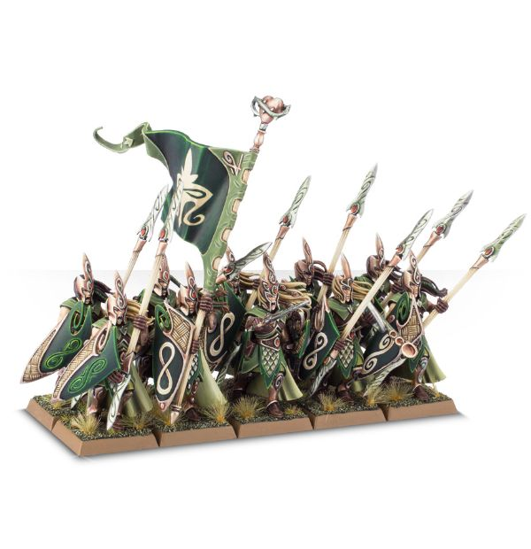Equivalence figurines KoW Warhammer Hauts Elfes + sylvains = Elfes 99120211