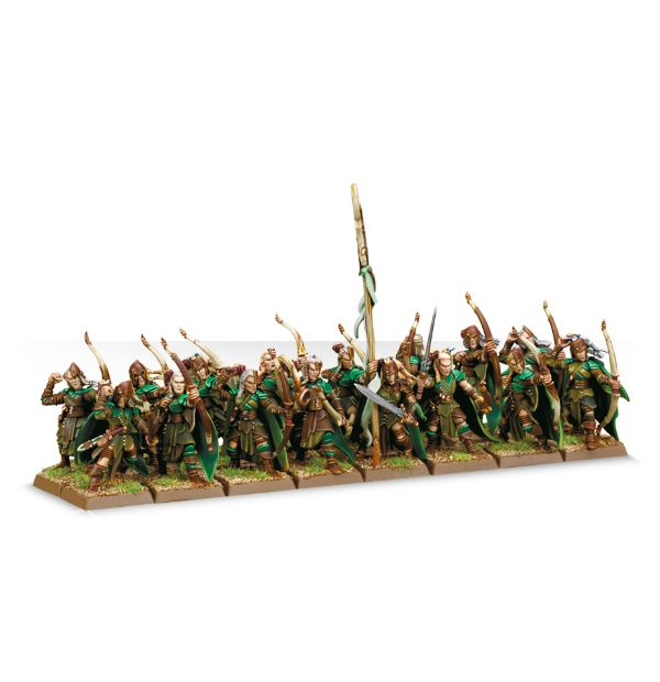 Equivalence figurines KoW Warhammer Hauts Elfes + sylvains = Elfes 99120213