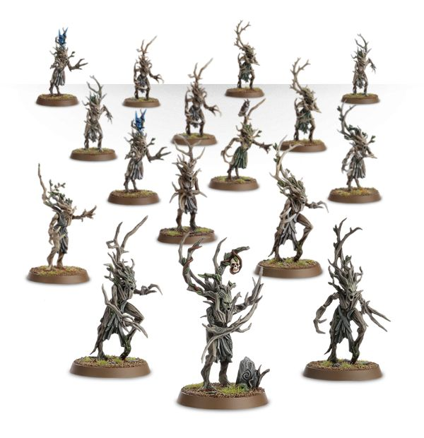 Equivalence figurines KoW Warhammer Hauts Elfes + sylvains = Elfes 99120215