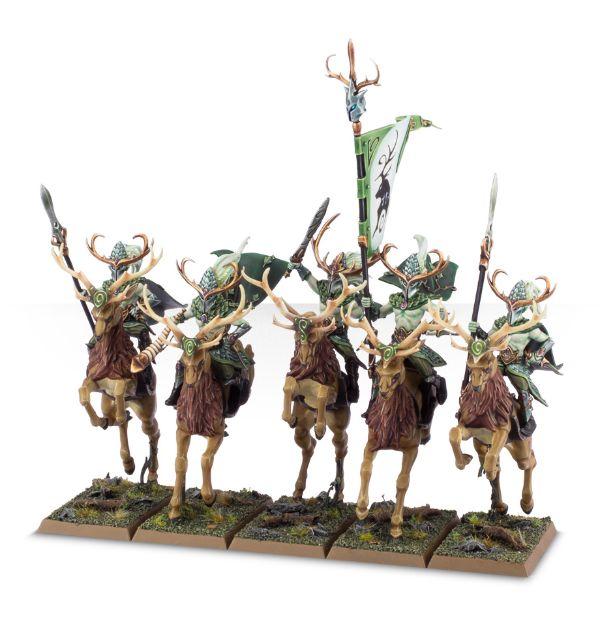 Equivalence figurines KoW Warhammer Hauts Elfes + sylvains = Elfes 99120216