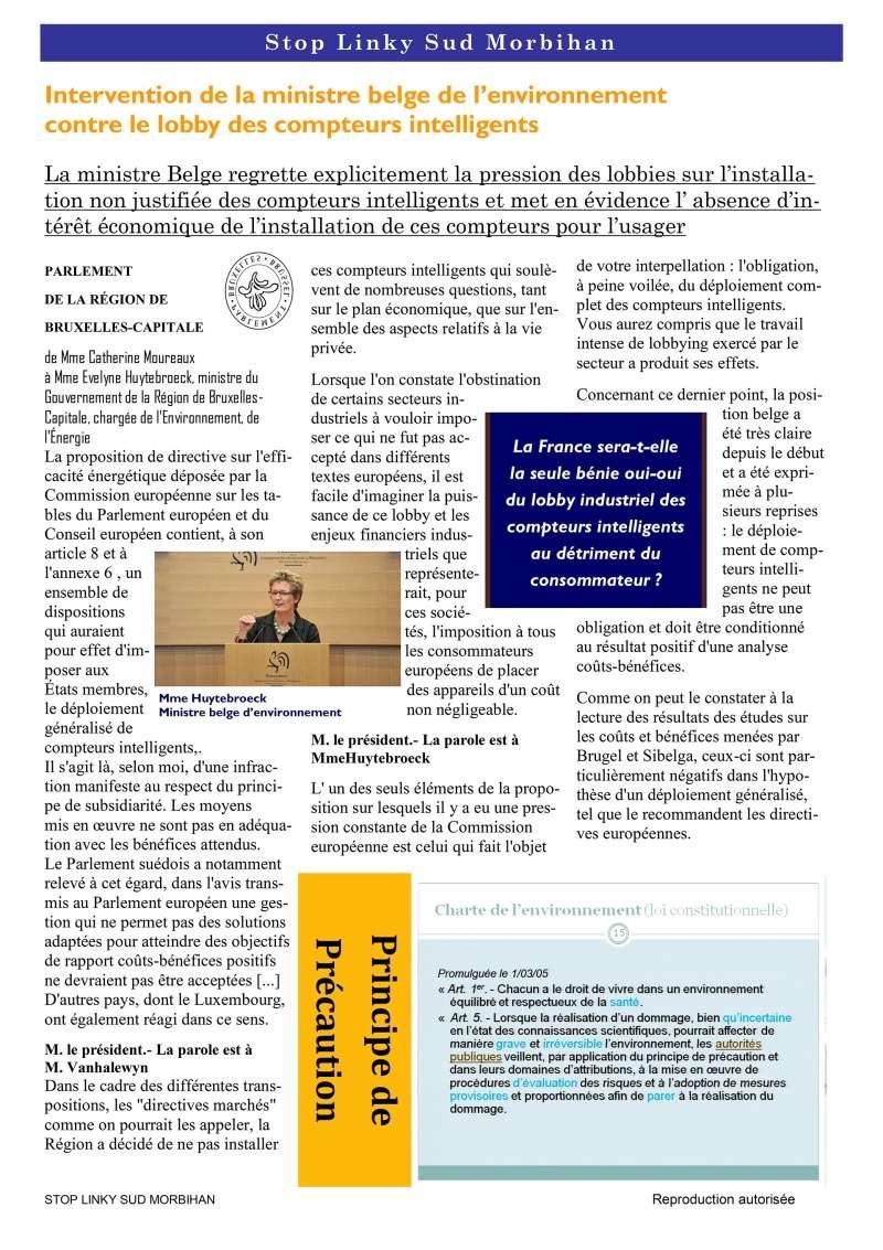 Linky - Infos-droit - Stop aux idées reçues - Aucune directive européenne n'impose le LINKY … ! P410