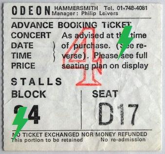1976 / 11 / 10 - UK, London, Hammersmith odeon 10_11_12