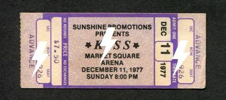 1977 / 12 / 11 - USA, Indianapolis, Market Square Arena 11_12_12