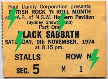1974 / 11 / 09 - AUS, Sydney, Hordern pavilion 11w03810