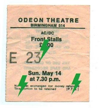 1978 / 05 / 14 - UK, Birmingham, Odeon Theatre  14_05_10