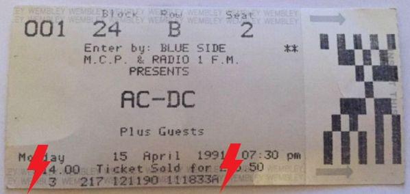 1991 / 04 / 15 - UK, London, Wembley arena 15_04_11
