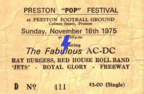 1975 / 11 / 16 - AUS, Preston, Preston football ground 16_11_12