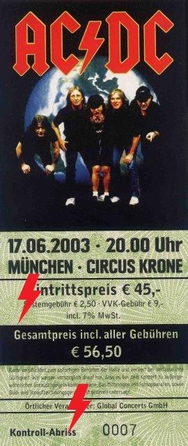 2003 / 06 / 17 - GER, Munich, Circus Krone 17_06_11